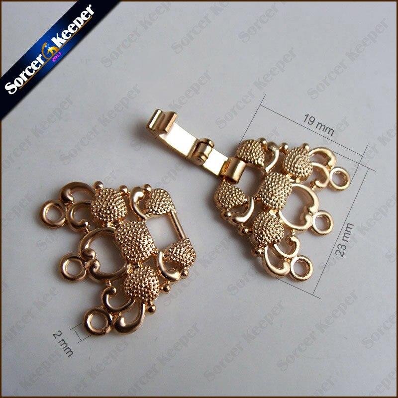 5 шт. ювелирных изделий и комплектующих, винтажные золотые застежки в виде цветов филигрань, металлические медные жемчужные бусины для самостоятельного изготовления ожерелий, тогл-коннектор