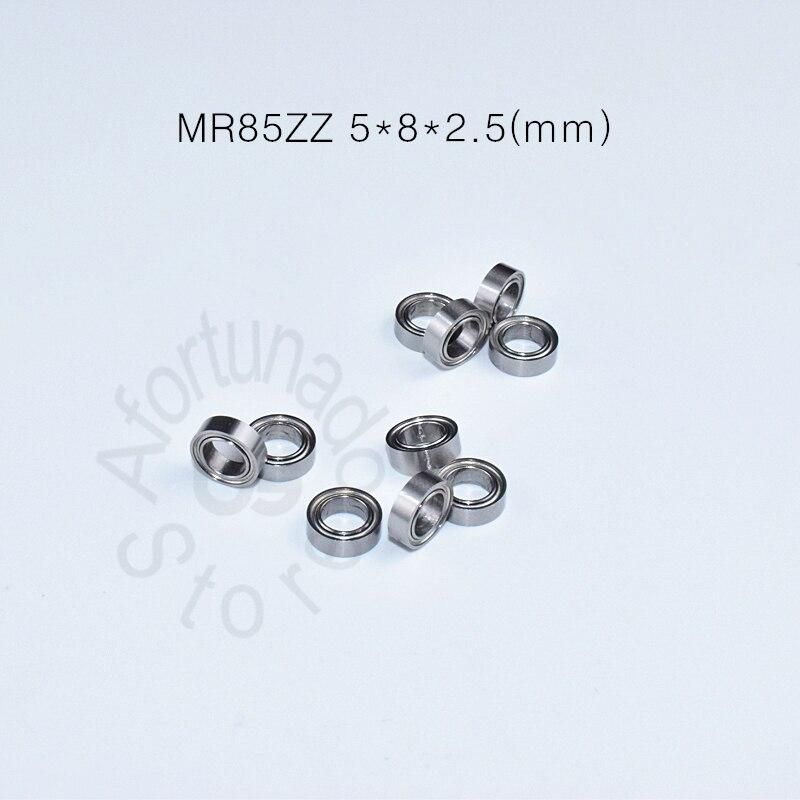 MR85ZZ 5*8*2,5 (mm) 5*8*2,5 (mm) rodamiento de envío gratis ABEC-5 Mini rodamiento de Metal sellado en miniatura MR85 MR85ZZ rodamiento de acero cromado