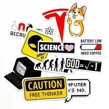 11 sztuk kreatywnych małych znaków naklejki Alien ewolucja człowieka moc ikona dekoracyjna naklejka na telefon laptop naklejki dekoracyjne