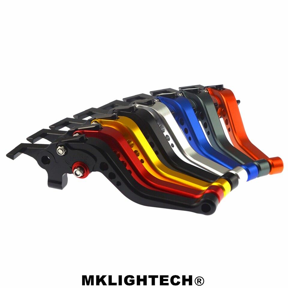 MKLIGHTECH para YAMAHA MT-03 2005-2009 accesorios de la motocicleta CNC corta palancas de embrague de freno