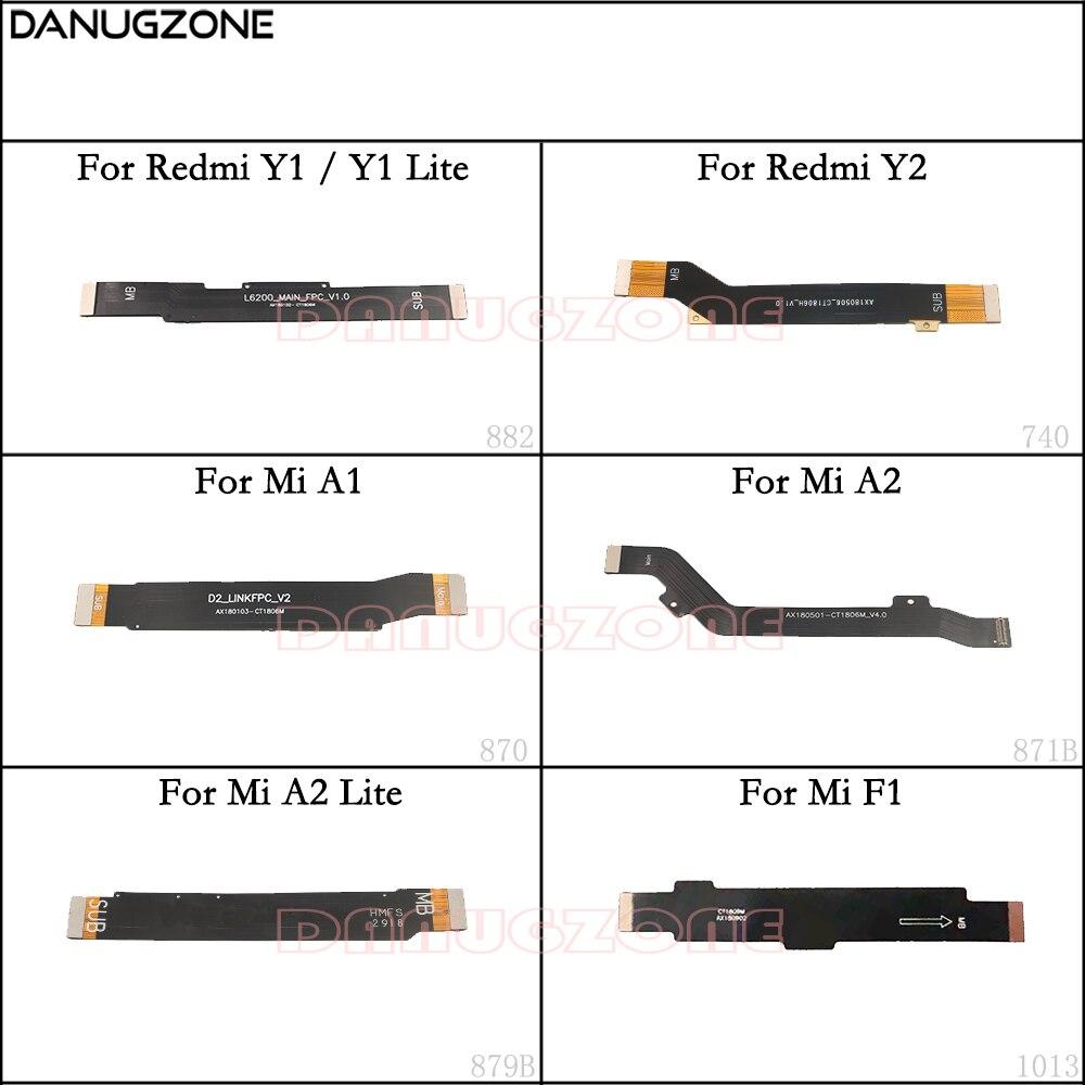 Display lcd placa principal cabo placa-mãe cabo de fita flexível para xiao mi a2 lite/mi a1 f1/vermelho mi y2/vermelho mi y1 lite