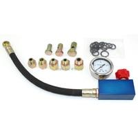 Auto Hydraulic Power Steering System Pressure Gauge Tester Set