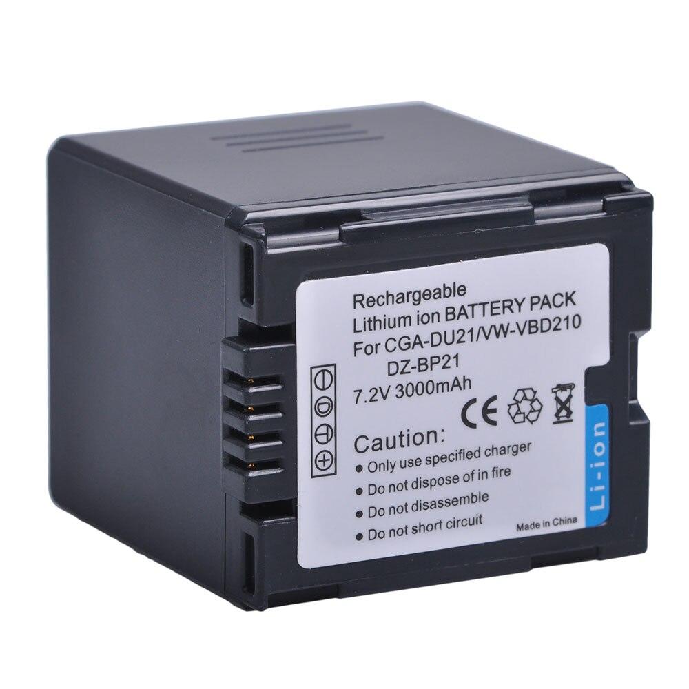 CGA-DU12 CGA-DU14 DU14 DU21 батарея для Panasonic VW-VBD140 GS400 GS408 GS500 GS508 MX500 NV-GS330 GS120 GS150 GS180 GS3