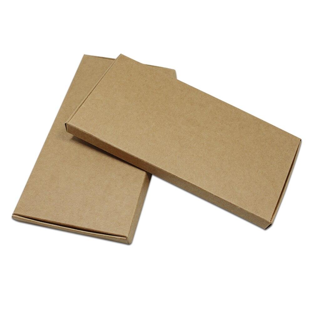 60 teile/los 16 Größen Große Braun Kraft Papier Verpackung Box Party Handwerk Handgemachte Geschenke Paper Werden Pack Box Karton Paket box