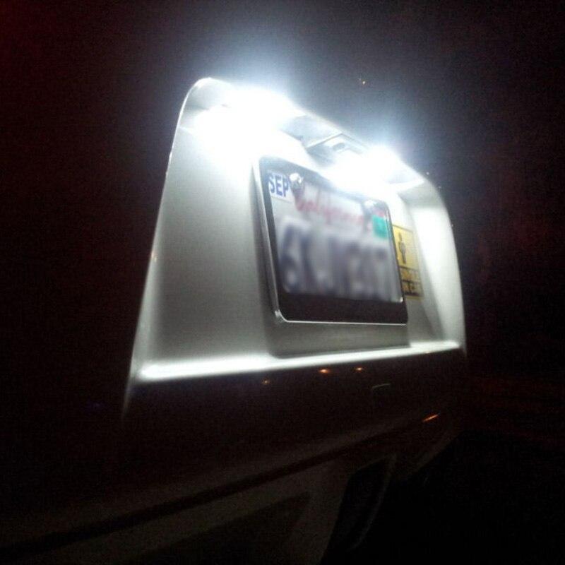 50 Uds blanco T10 RV Camper 5-SMD 5050 bombillas de luz led para coche 12V 12V 168, 194, 921, 192, Lot