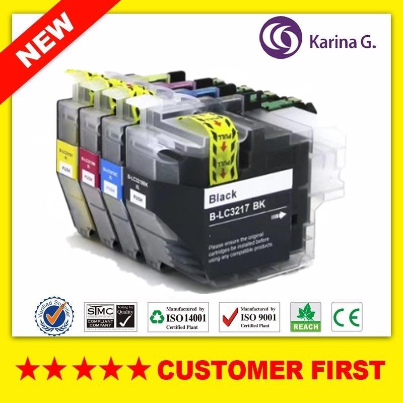Cartucho de tinta Compatible para Brother LC3217 para Brother MFC-J5330DW/MFC-J5335DW/MFC-J5730DW/MFC-J5930DW/MFC-J6530DW/MFC-J6930DW