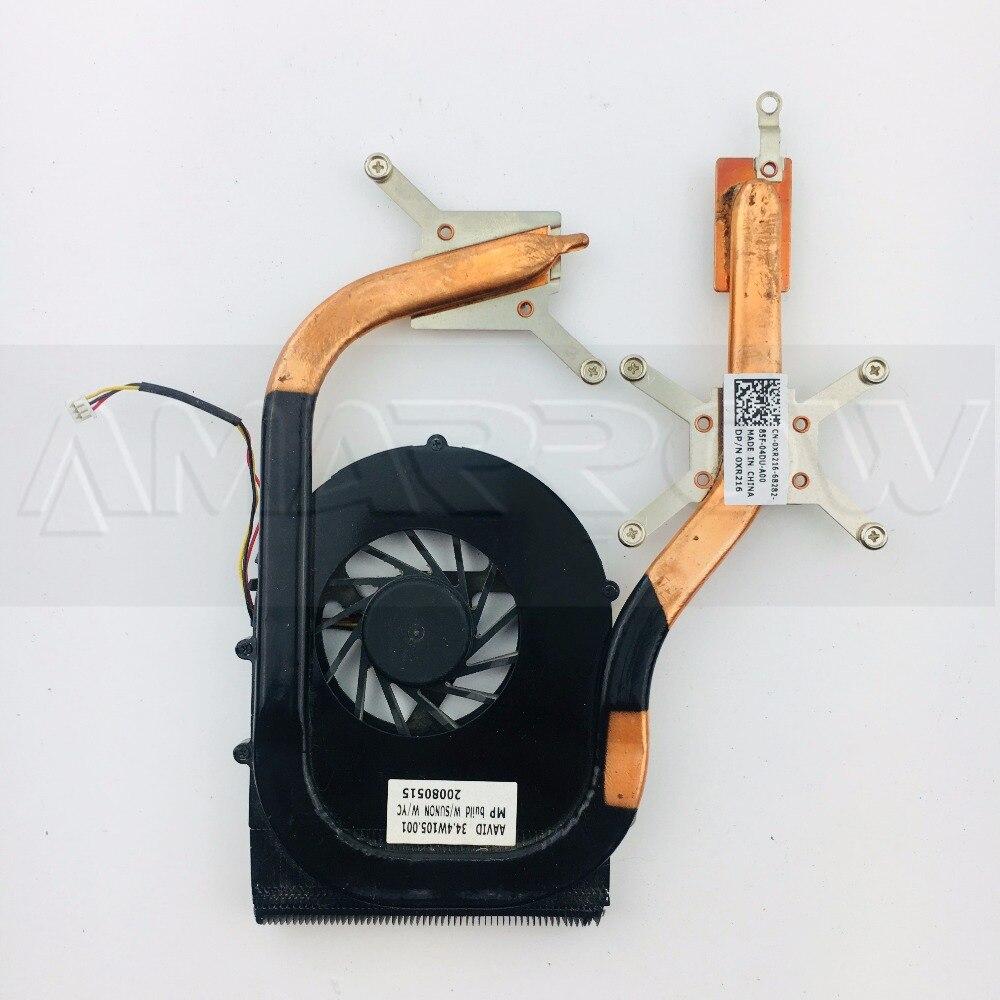 Original envío gratis ordenador portátil CPU disipador de calor ventilador de refrigeración...