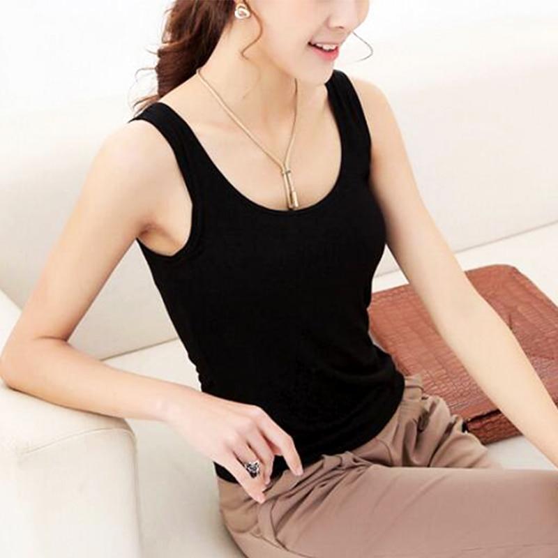 NEW 1 PC Casual Wild Women's Sleeveless Tank Tops No Sleeve T-Shirt Summer round neck Vest