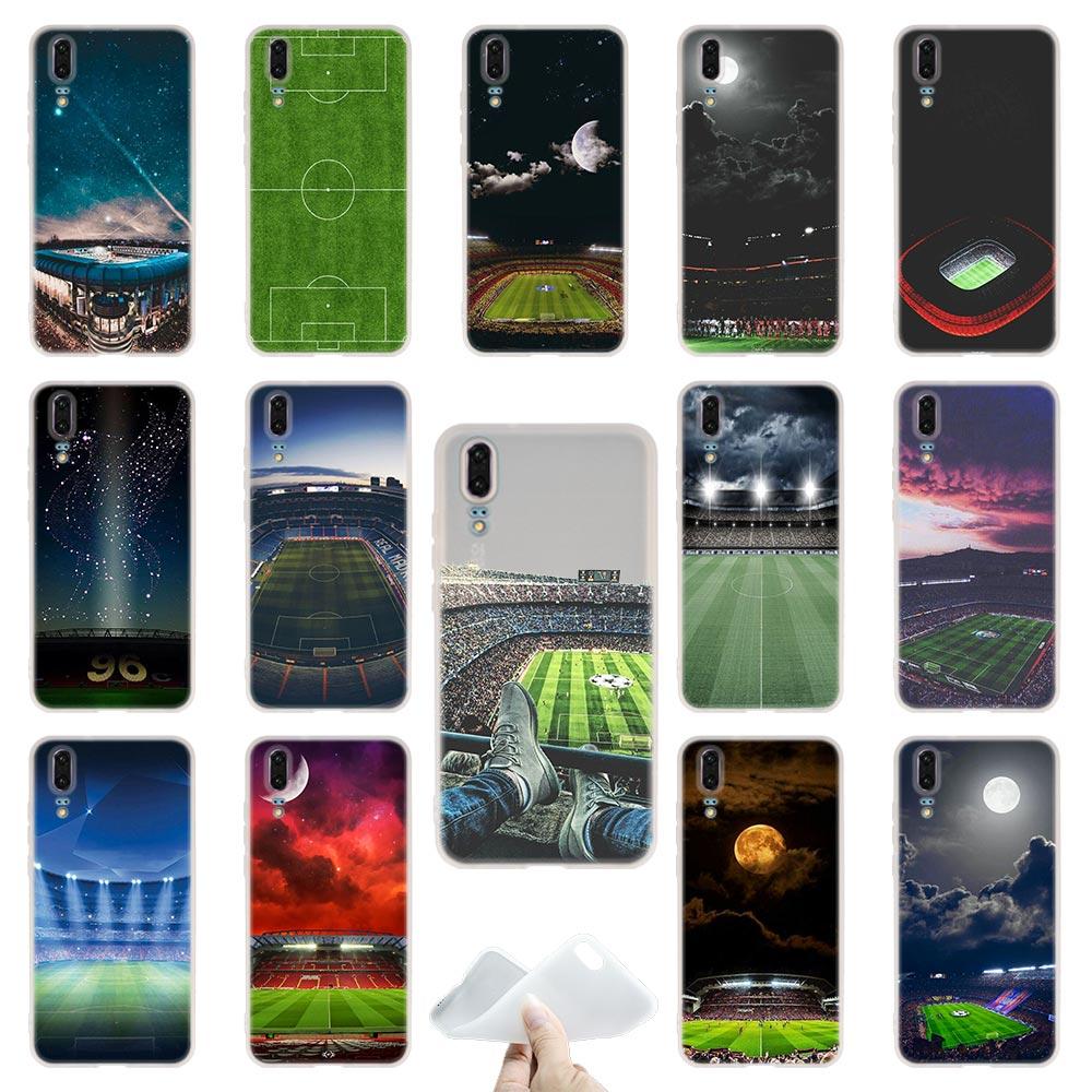 Barcelona Home estadio de fútbol fundas de teléfono para Huawei P40 P30 P20 Pro P10 Plus P9 Lite p30lite p40lite P samrt Z 2019