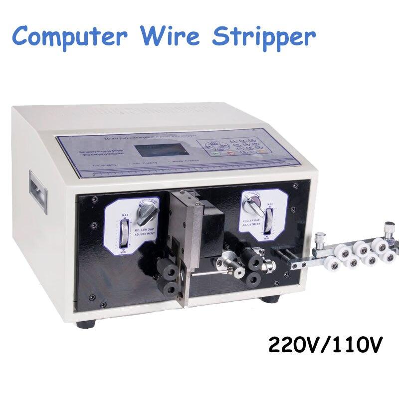 SWT508C التلقائي قطاع سلك آلة السلخ قطع سلك الكمبيوتر قطاع سلك تجريد آلة 0.1 إلى 4.5 مللي متر