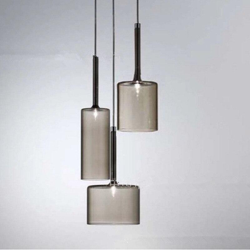 Nordic Loft Creative Glass Dining Room Pendant lights Retro Wine Bottle Cafe Lights Kitchen Bar Light Free Shipping