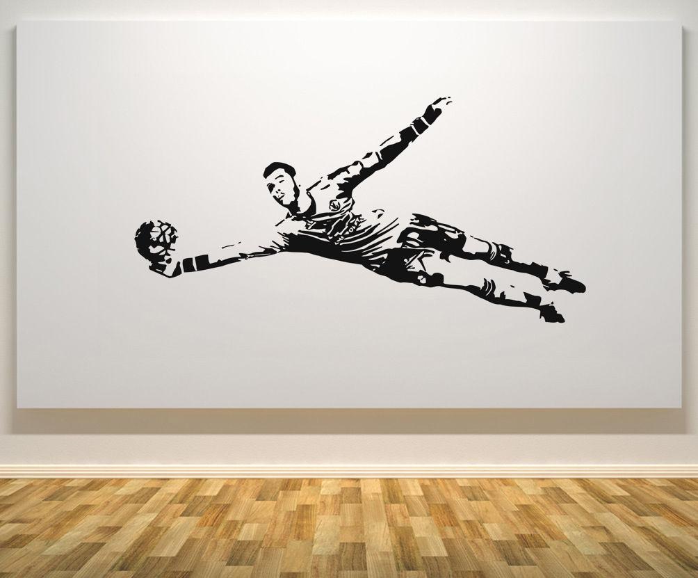 David de Gea extraíble portero de fútbol pegatina de pared envío gratis