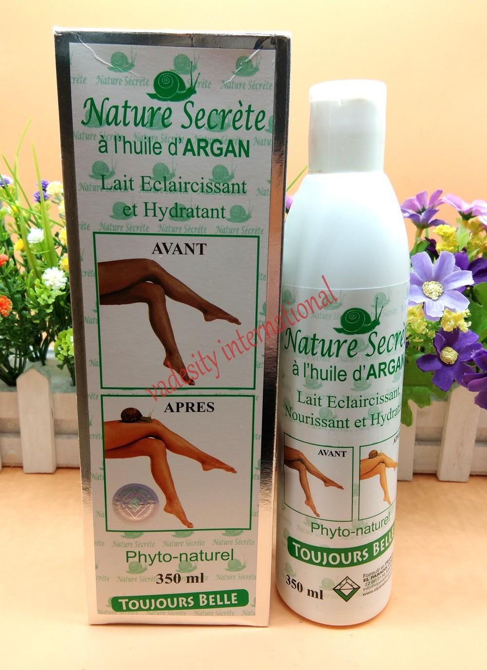 Loción corporal hidratante aclarante secreto natural de 350ml