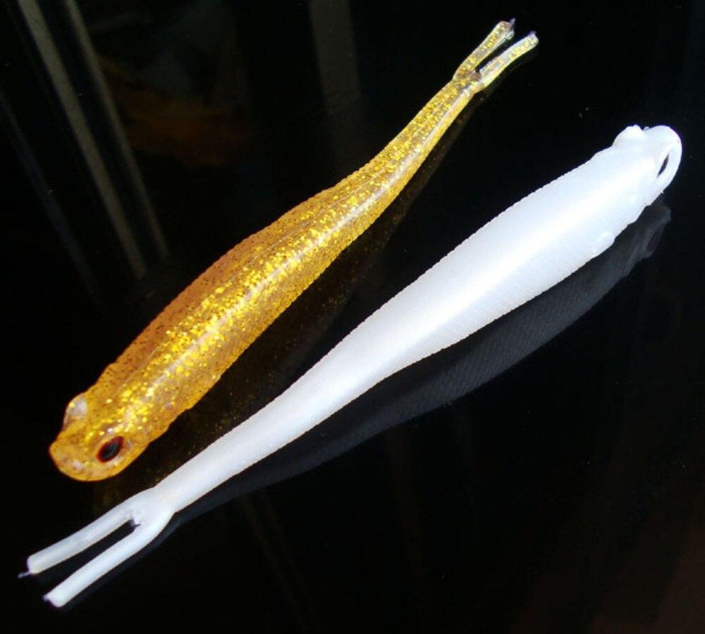 10 Uds señuelo suave de silicona platija de cebo pez pesca Saltwater pez señuelo 13 cm/9,5g