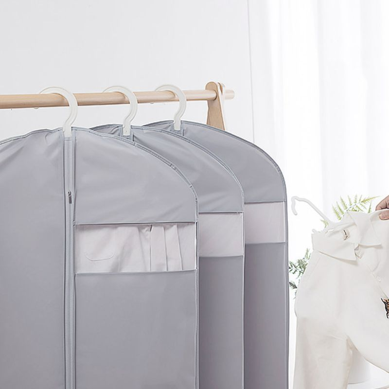 PEVA Hanging Garment Bags Suit Travel Clothes Dress Cover Dustproof  Waterproof Luandry Clothing Covers enlarge