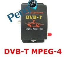 SINTONIZADOR DE MPEG-4 Digital para TV de coche DVB-T, receptor de dos antenas 140-200 km/h, sintonizador de dos chips, DVB T BOX
