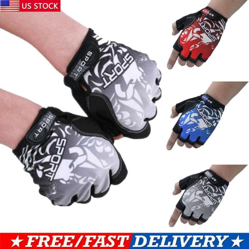 MTB перчатки с половинными пальцами, велосипедные гонки, перчатки с открытыми пальцами, спортивные перчатки без пальцев