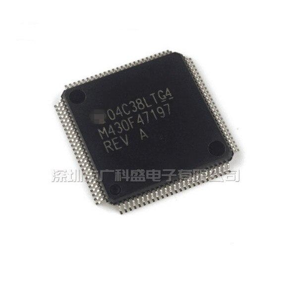 2/PCS LOT MSP430F47197IPZR MSP430F47197 M430F47197 LQFP100 NOUVEAU