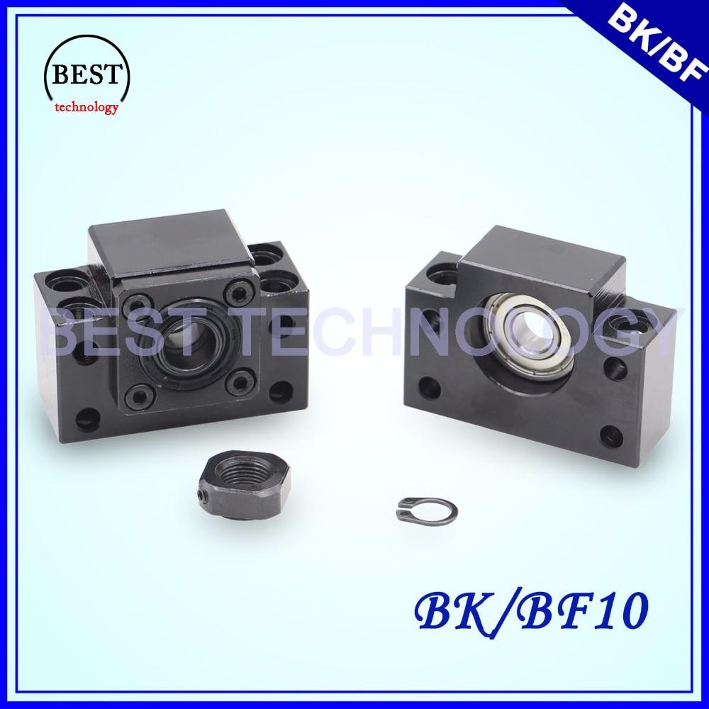 شحن مجاني! SFU 1204 أجزاء CNC BK 10 & BF 10, دعم طرفي كروي BK/BF10
