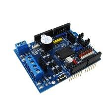HAILANGNIAO 5 pcs/lot contrôleur de vitesse L298P PWM double pilote de pont en H haute puissance, Interface Bluetooth, bouclier moteur L298P