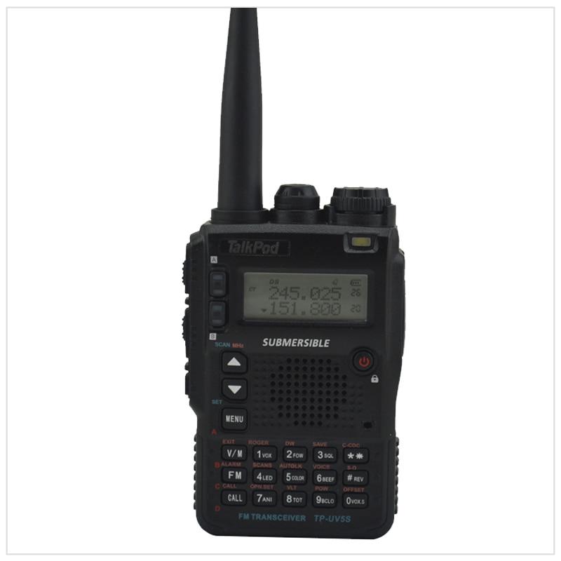 Трехдиапазонная рация TalkPod TP-UV5S, 136-174/240-260/400-520 МГц, 7 Вт, 2200 мАч, двухсторонняя радиостанция Sister Yaesu VX-8DR
