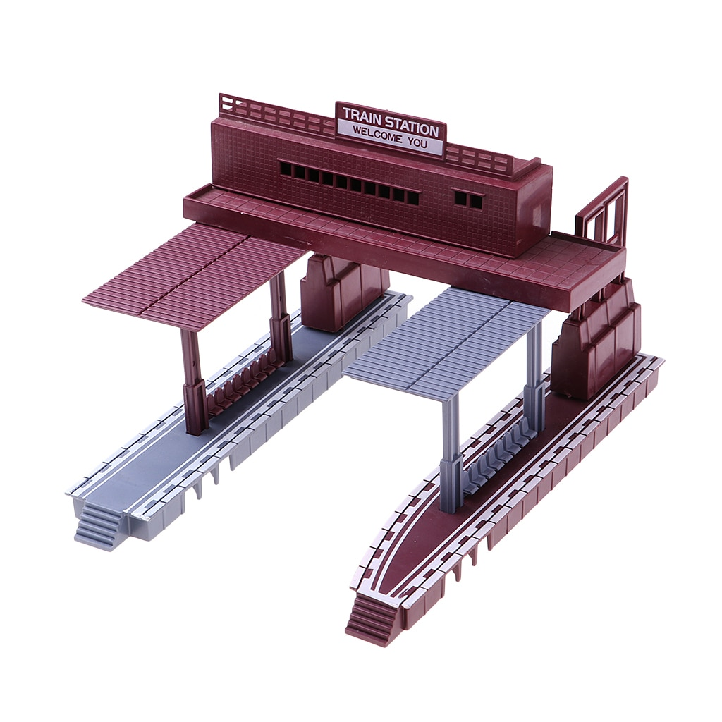 187 échelle gare mise en page de Simulation HO jauge modèle de construction Diorama pièce accessoire modèle