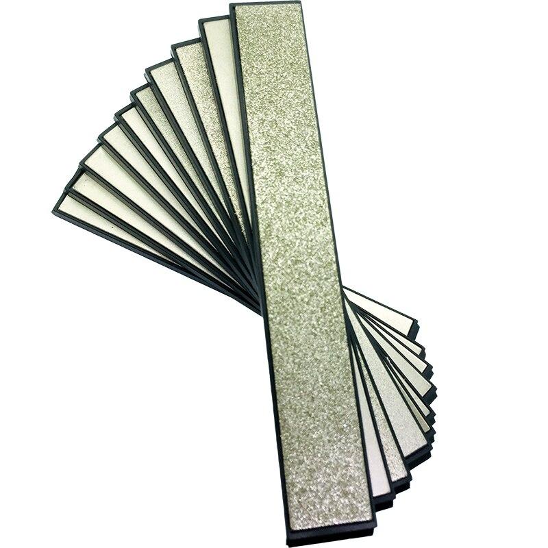 7 قطعة مجموعة المطبخ سكين أبيكس حافة برو مبراة استبدال الماس المشحذ 80-2000Grit