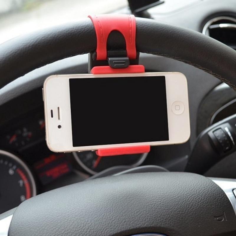 GPS Do Carro Volante Titular Do Telefone Para Samsung S7 S6 borda Navegar Suporte Stand Case Capa Para iphone 5 SÉ S iphone 6 6 S Plus