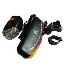 LED Fahrrad Fahrrad Blinker Directional Bremslicht Lampe 8 sound Horn Fest mount Set Fahrrad Licht Sicherheit in Dunkelheit