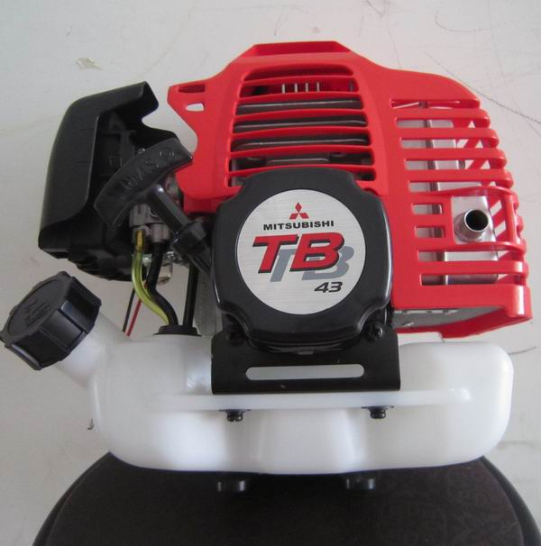 TB43 GASOLINE ENGINE POWERED MITSUBISHI 42.7CC 2 STROKE enlarge