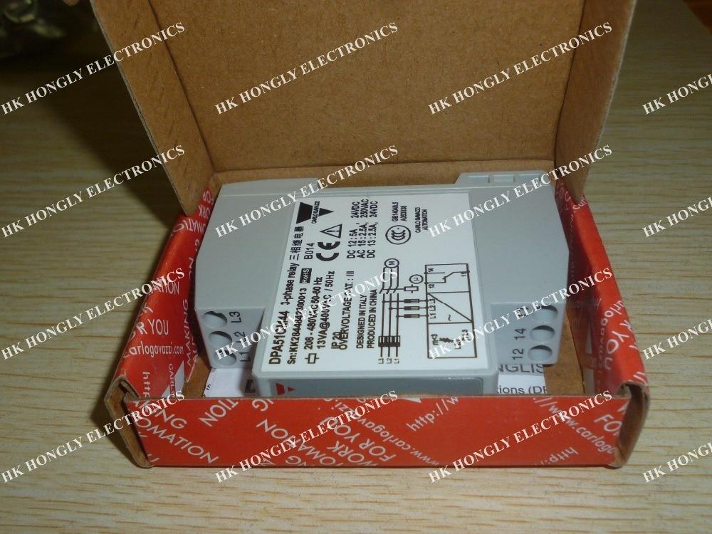 2 unids/lote 3 Secuencia de fase protección relé de DPA51CM44 nuevo
