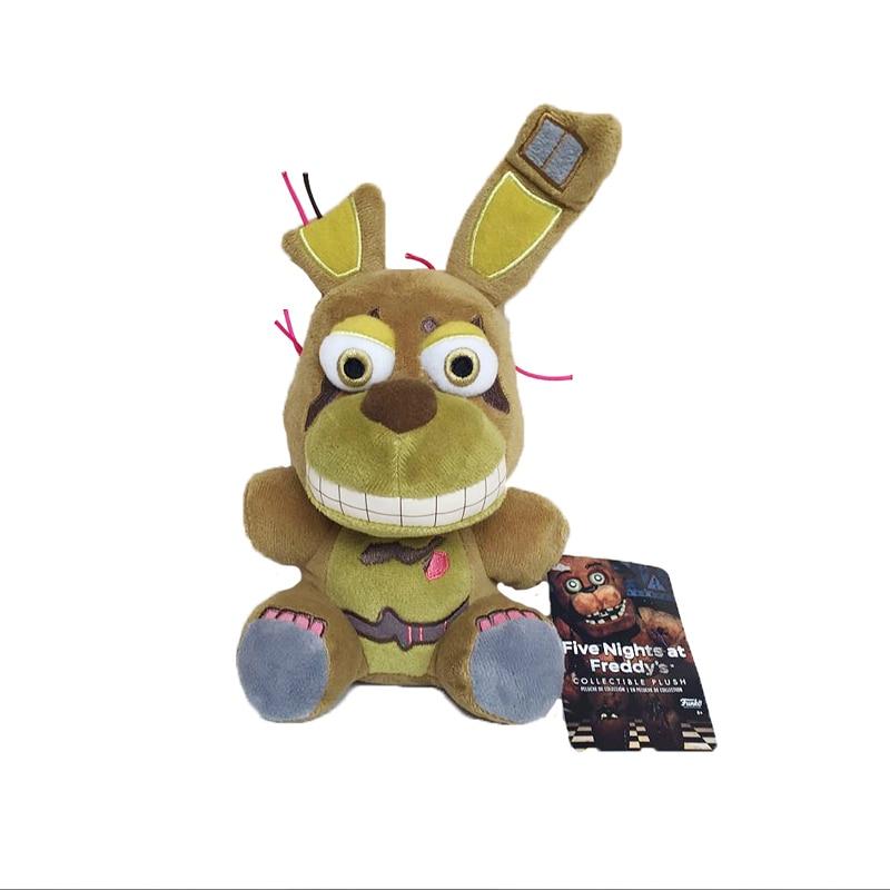 Плюшевые игрушки Five Nights At Freddys 4 FNAF Bonnie Rabbit, мягкие игрушки с животными, кукла для детей, подарки для детей, Новое поступление, 18 см