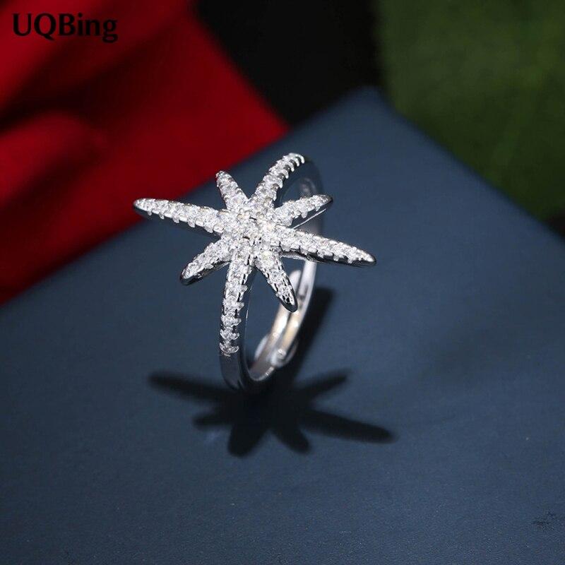 Venta al por mayor joyería Europea 925 anillos de plata esterlina anillo de diamantes de imitación de Zirconia anillo 100% de plata esterlina 925 joyería de mujer 2016