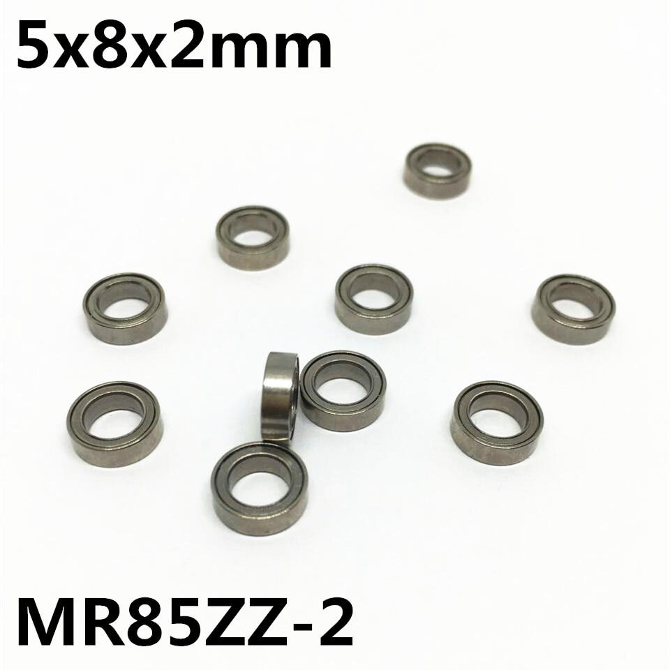 10pcs-mr85zz-2-5x8x2-mm-deep-groove-ball-bearing-miniature-bearing-high-qualit-mr85-2-open