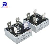 5 unids/lote puente rectificador diodo KBPC1510 15A 1000V puente monofásico rectificador circuito integrado Original