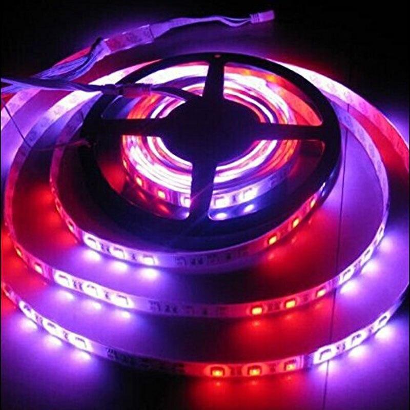 5mX de alta calidad 5050SMD DC12V RGB caballo tira de luz LED 270 LEDs/rollo de 5 m/rollo + LED control remoto envío gratis