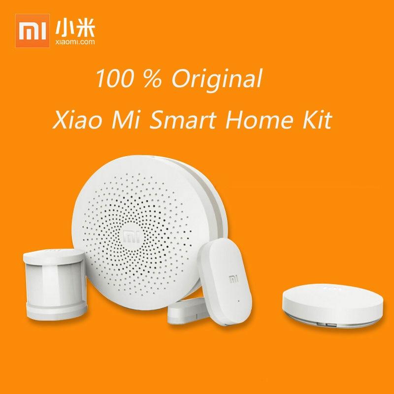 2019 Xiaomi Mi Smart Home Kit Gateway2 Door Window Sensor Human Body Sensor Wireless Switch Smart Devices Sets For Mi Smart Home