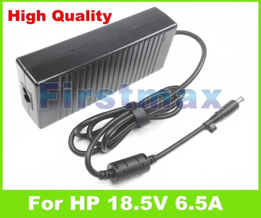 18,5 V 6.5A 120W адаптер переменного тока для HP HDX HDX18 HDX18t Pavilion DV6 DV7 DV8 зарядное устройство 608426-001 PPP016L-E 609941-001