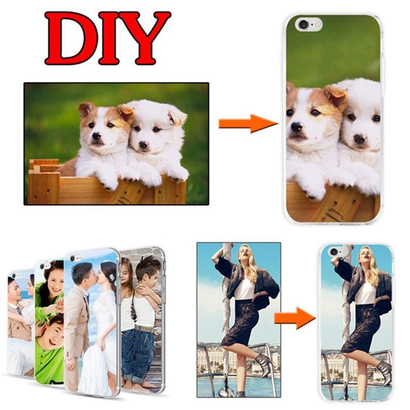 DIY nombre personalizado foto funda para LG G5 SE Lite H850 VS987 H820 LS992 H830 US992 H860N fresco pintado diseño de cubierta