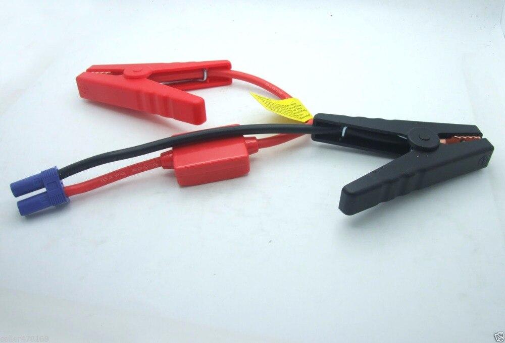 Nueva pinza de clip de batería de coche 200A 10 AWG cables Banana Plug a cargadores de clip de cocodrilo
