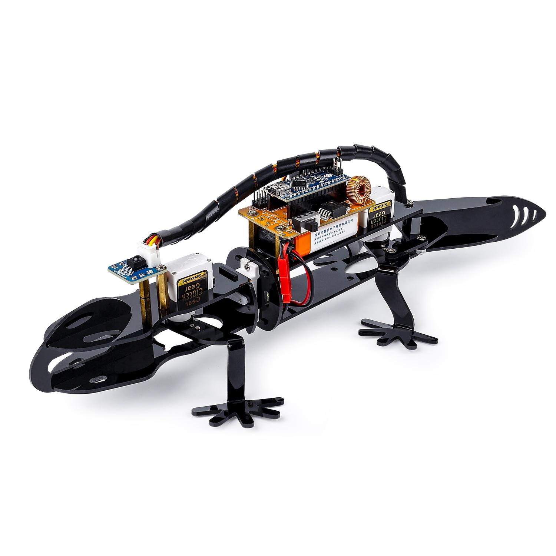 SunFounder Bionic робот ящерица визуального п�