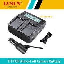 LVSUN Caméra Batterie BP70A 70A BP-70A Double Voiture/AC Charge pour SAMSUNG ST66 ST700 ST88 ES65 MV800 PL120 PL170 ES80 PL20 ST30 ST60