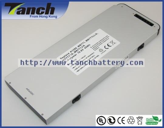 "Batterie ordinateur portable pour APPLE MB771 MacBook 13 ""MB467/A MB466 CH/A, MB467J/A MB467X/A 11.1 V 6 cell"