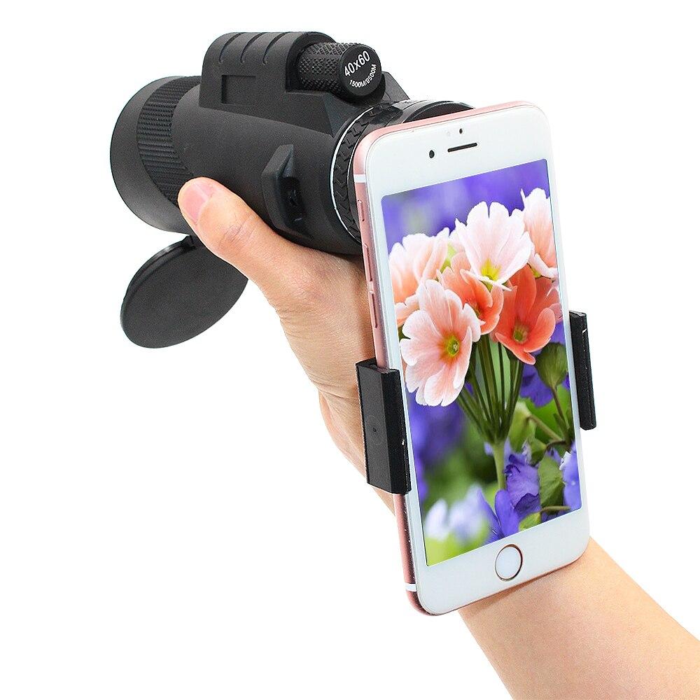 Lente de cámara de teléfono 40x lentes Zoom Monocular lente de telescopio de teléfono 40x60 lentes de cámara lentes Zoom para Smartphone