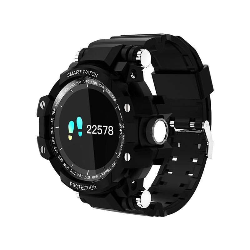GW68-reloj inteligente deportivo con Bluetooth, reloj de pulsera inteligente deportivo con control del ritmo cardíaco y resistente al agua para hombre