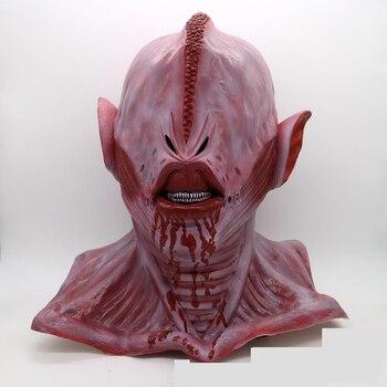 Маска на голову для Хэллоуина с большим глазом, маска на голову, реквизит для косплея на Хэллоуин, маска 300ста латексные реквизиты