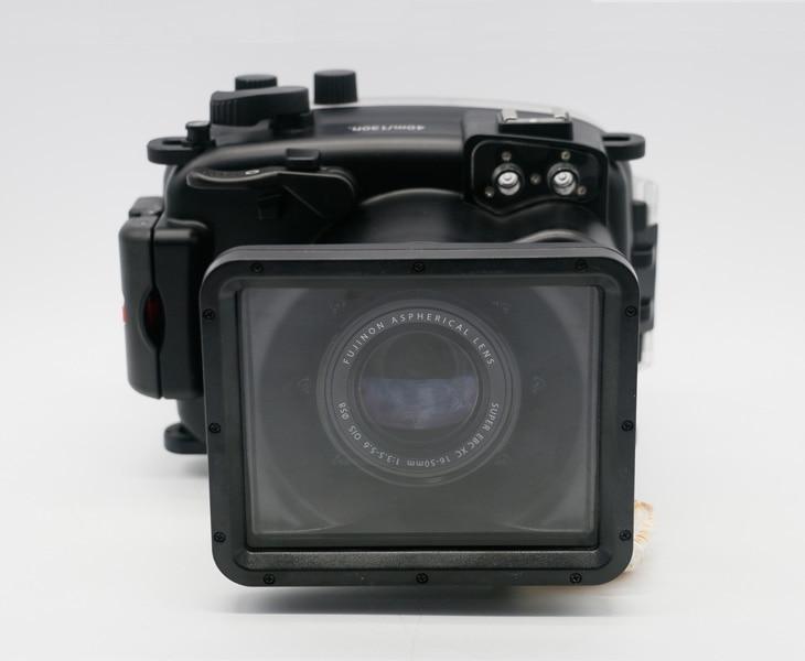 Carcasa impermeable para cámara submarinismo bolsa dura para Fujifilm Fuji X-A1