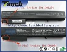 Dizüstü bilgisayar HP için batarya Compaq 8510 w PB992A HSTNN-DB11 398876-001 HSTNN-OB06 372771-001 nx7300 nx7400 14.4 V 8 hücre