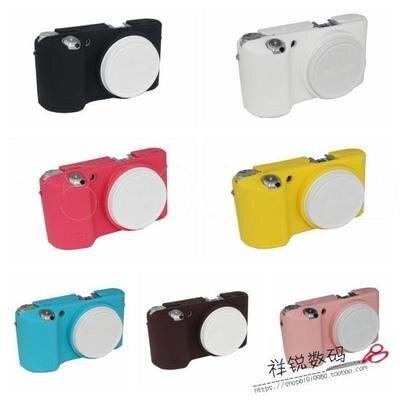 Мягкий силиконовый резиновый защитный корпус для камеры чехол для Samsung NX500 беззеркальная система