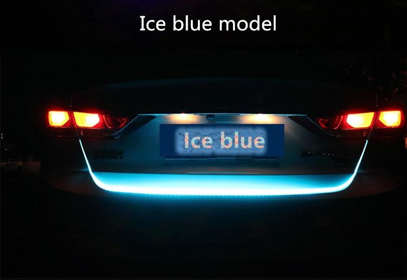 Accesorios para el coche, luz LED cambiable de movimiento trasero, perilla de palanca de cambios de coche para ALFA ROMEO 147 159 156, pegatinas mito giulietta gt emble